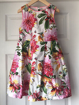 £8 • Buy NEXT Girls Summer Dress Age 6 Years Party Dress Butterfly Print VGC