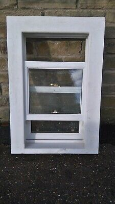 New Double Glazed Wooden Sliding Sash Window W24inch/600mm H=36inch/908mm • 83£