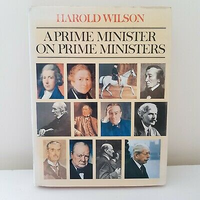 £50 • Buy *Signed* A Prime Minister On Prime Ministers By Harold Wilson (Hardback, 1977)