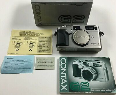 $ CDN1245 • Buy Zeiss Contax G2 Camera Body (#042374) 88% Condition LCD Bleed Perfect Working