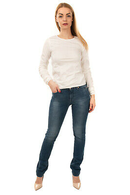AU19.63 • Buy RRP €230 7 FOR ALL MANKIND Jeans Size 24 Stretch Distressed Faded Straight Leg