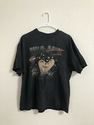 $ CDN37.65 • Buy Vintage Harley Davidson T-Shirt Men's Size Large Looney Tunes Taz Made In USA