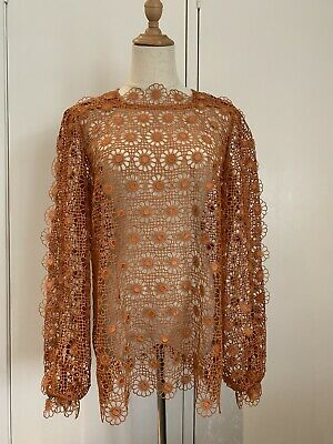 AU200 • Buy Alice McCall Bronze Lace Top