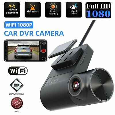AU41.92 • Buy FHD 1080P Wireless WIFI Hidden Car DVR Camera Dash Cam G-Sensor Video Recorder