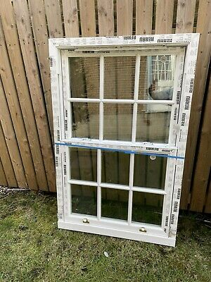 Upvc Georgian Sliding Sash Window Double Glazed . • 195£