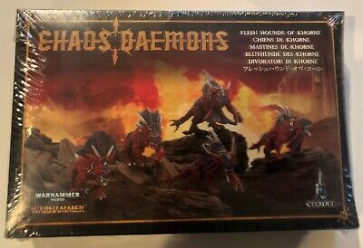 AU1.36 • Buy GW Games Workshop Chaos FLESH HOUNDS OF KHORNE Metal OOP NiB Age Sigmar 40K