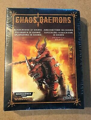 AU1.30 • Buy GW Games Workshop CHAOS BLOODCRUSHER OF KHORNE NIB Metal OOP 40K Age Sigmar