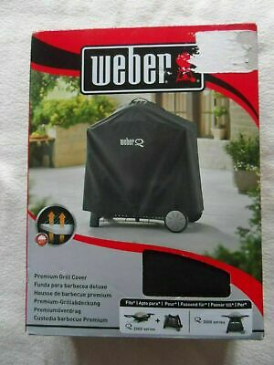 $ CDN99.09 • Buy WEBER PREMIUM BBQ GRILL COVER 7184 Q3200 Series NEW