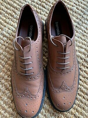£14.99 • Buy Mens Barratts Light Brown Brogues Shoes Vgc Uk 11 100% Genuine Fast Post