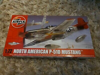 Airfix A01004 North American P-51D Mustang 1:72 Scale Series 1 Plastic Model Kit • 9.99£
