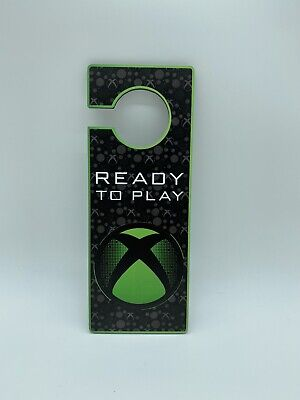 £4.75 • Buy Xbox Door Hanger Gamer Sign Ready To Play Do Not Disturb Gift Man Cave Mancave