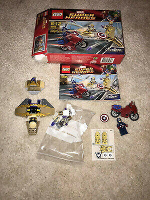 Captain America Avenging Cycle Lego  6865 • 9£