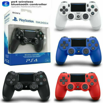 Genuine PS4 Controller PlayStation Game Console DUALSHOCK 4 V2 Wireless Official • 21.59£
