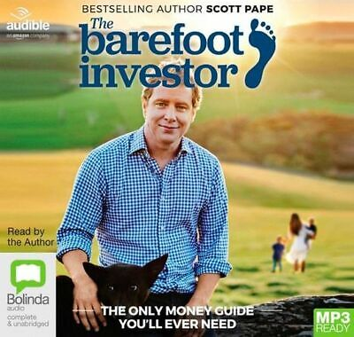 AU20.50 • Buy NEW The Barefoot Investor : The Only Money Guide You'll Ever Need By Scott Pape