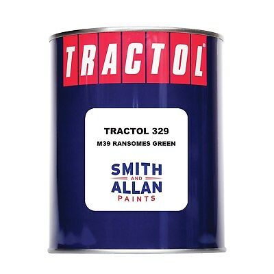 £28.15 • Buy Ransomes Green Tractor Paint Machinery Plant Mower Enamel Tractol 1 Litre 1L