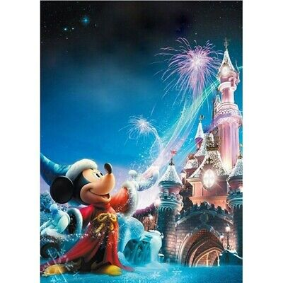 £6.99 • Buy 5D DIY Diamond Painting Full Round Drill Disney Mickey Mouse Kit Embroidery Gift