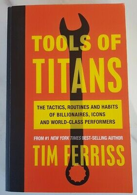 AU2.99 • Buy Tools Of Titans By Tim Ferriss Book