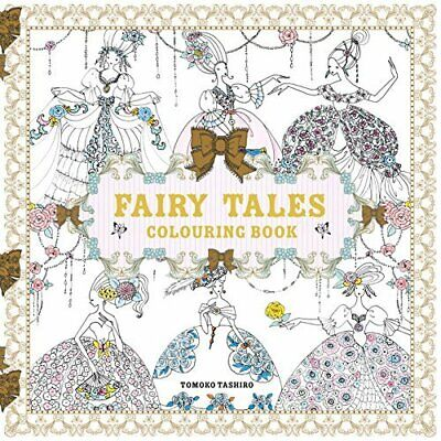 -Fairy Tales Colouring Book BOOK NEW • 9.40£