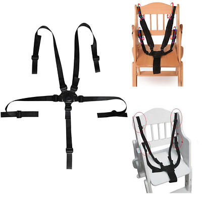 AU13.69 • Buy 5 Point Baby Kids Safety Chair Harness Belt Strap High Chair Feeding Car Seat