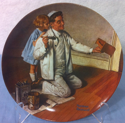 $ CDN12.52 • Buy Norman Rockwell Collectible Plates The Painter 8.5 Inch