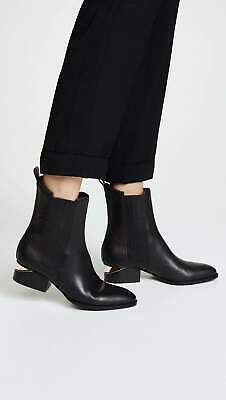 AU725.99 • Buy Alexander Wang Black Rose Gold Anouck Boots Size 37 NEW