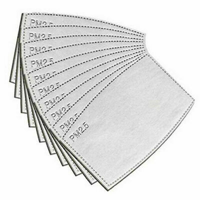 £0.99 • Buy 5 LAYER HEPA FILTERS - ACTIVE CARBON FILTERS For FACE MASKS PM2.5 CERTIFIED LOT