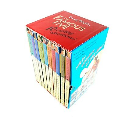 £24.99 • Buy Famous Five Classic Collection 10 Book Set By Enid Blyton Hodder Book Publisher