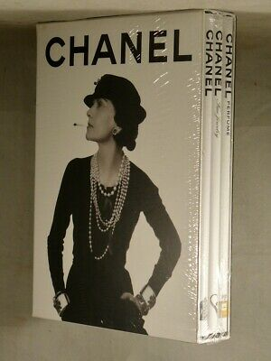 £77.88 • Buy CHANEL 3-Book Hardcover Set In Slipcase: Perfume, Jewelry & Fashion BRAND NEW!