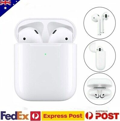 AU79.99 • Buy Apple AirPods 2nd Generation With Wireless Charging Case Headphones AU Stock
