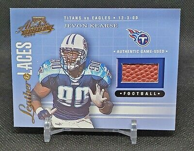 AU11.62 • Buy 2001 Absolute Tools Of The Trade Jevon Kearse Game Used Football 671/825 Titans