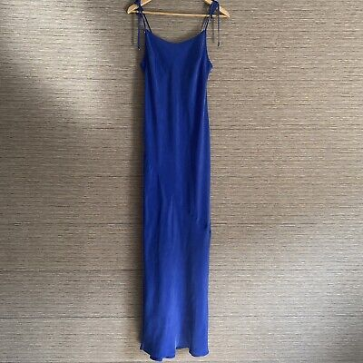 AU50 • Buy Tigerlily Blue Hala Maxi Dress Size 14