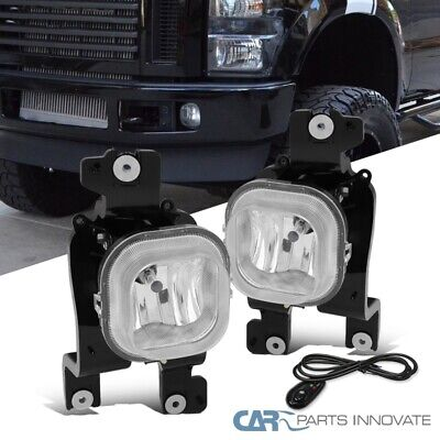 AU47.76 • Buy For 08-10 Ford F250 F350 F450 Super Duty Clear Fog Lights Driving Lamps+Switch