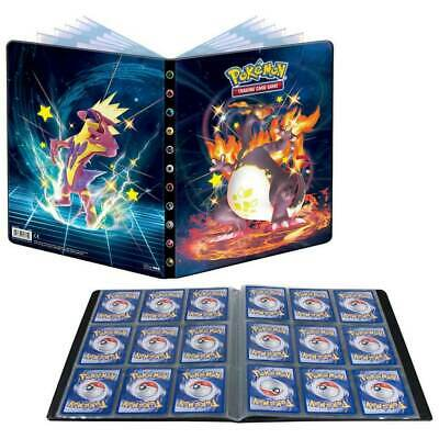 AU43.95 • Buy Shining Fates Pokemon Ultra Pro Album Folder Portfolio 9 Pocket Holds 180 Cards