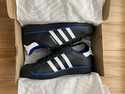 AU66 • Buy Adidas Superstar Mens Black Sneakers Shoes, US12, Brand New