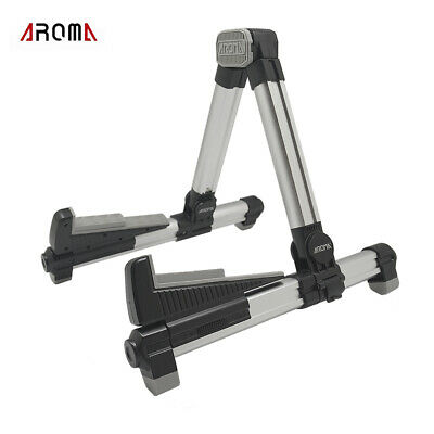 $ CDN34.17 • Buy AROMA AGS-08 Folding Adjustable Universal String Instrument Guitar Stand E1M9