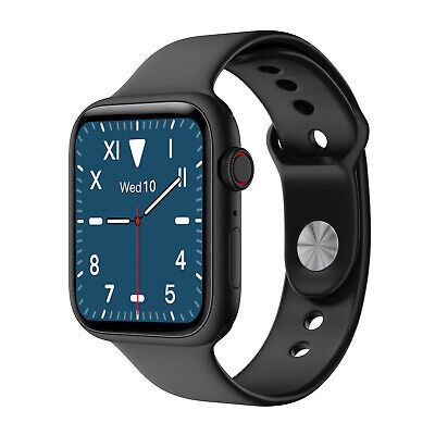 AU49.69 • Buy Heart Rate Monitor Smart Watch BT5.0 Bluetooth Call Reminder For Android IPhone