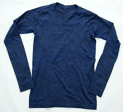 $ CDN31.25 • Buy LULULEMON Blue Long Sleeve Activewear Top Womens 8