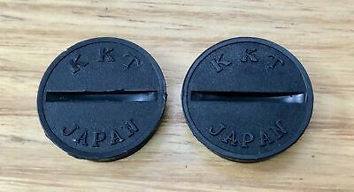 AU27.50 • Buy KKT - AMX Pedal Caps - Black - Old School Bmx
