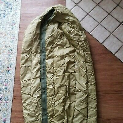 $80 • Buy M1949 Vintage Military Sleeping Bag, Mountain, Feather Filled,  Type 1, Serval
