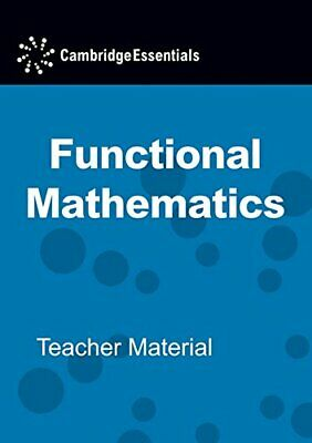 £30.99 • Buy Cambridge Essentials Functional Mathematics GCSE Leve... By Tanner, Kevin CD-ROM