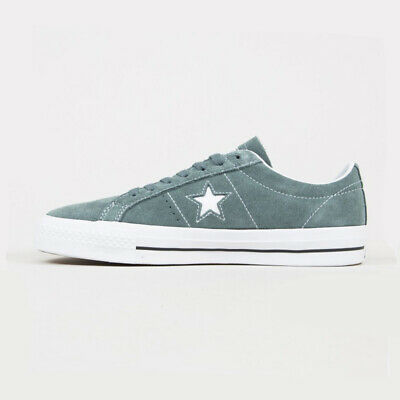£37.99 • Buy Converse Mens All Star CONS One Star Pro Ox Grey Suede Lace Up Casual Trainers