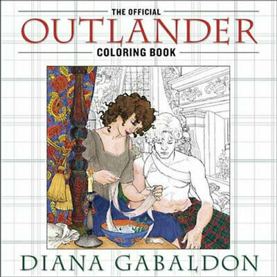 AU30.75 • Buy NEW The Official Outlander Coloring Book By Diana Gabaldon Paperback
