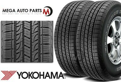 $245.28 • Buy 2 Yokohama Geolandar H/T G056 P235/75R15 108T XL OWL All Season SUV Truck Tires