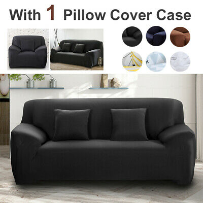 AU29.99 • Buy 1 2 3 Seater Sofa Covers Stretch Couch Lounge Recliner Chair Slipcover Protector