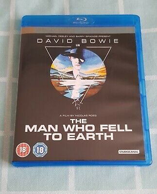 The Man Who Fell To Earth Blu-ray (2011) David Bowie, Roeg (DIR) Cert 18 • 8.50£