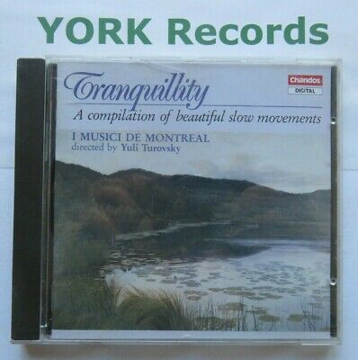 £3.99 • Buy TRANQUILITY - YULI TUROVSKYI Musici De Montreal - Excellent Condition CD Chandos
