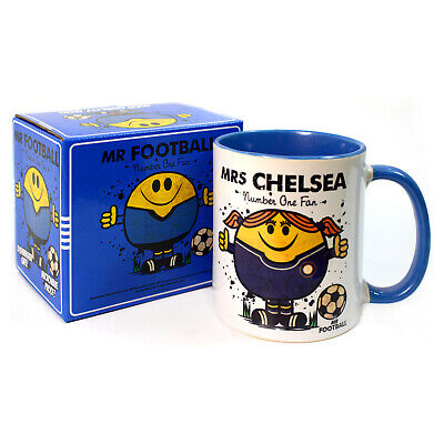 £5.95 • Buy Mrs CHELSEA FOOTBALL MUG - Great Gift For The BLUES Fan Woman ( Unofficial )