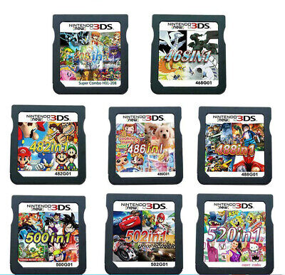 £11.99 • Buy ALL In 1 Games Cartridge Video Game Multicart For Nintendo NDS NDSI NDSL 3DS DS