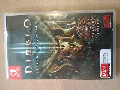 AU40 • Buy Diablo III Eternal Collection Preowned - Nintendo Switch - PREOWNED