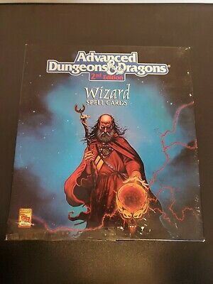 AU42.07 • Buy AD&D Advanced Dungeons Dragons Wizard Spell Cards Deck Box Set 9356 2nd TSR 1992